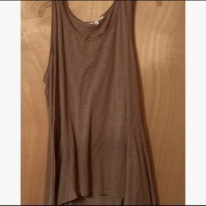 Umgee Brown Sleeveless Tunic